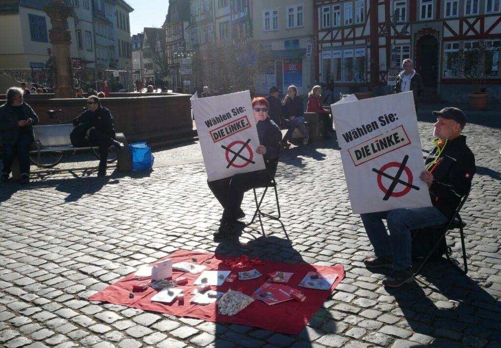 Die Linke Butzbach Marktplatz